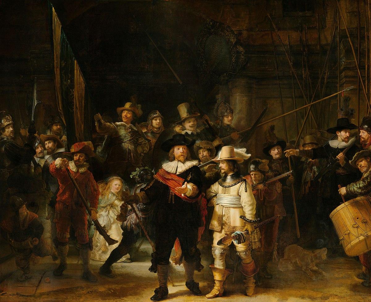 La Ronda de Noche por Rembrandt