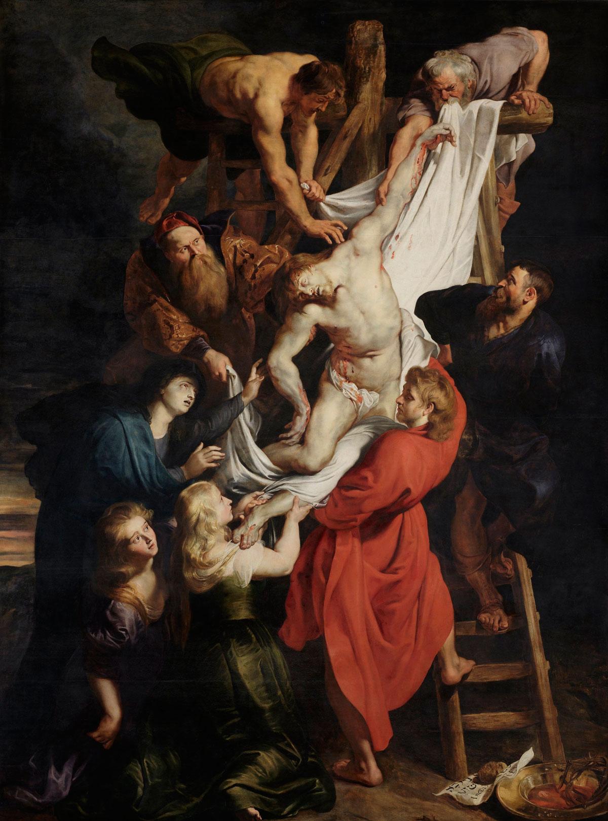 El descenso de la cruz por Rubens