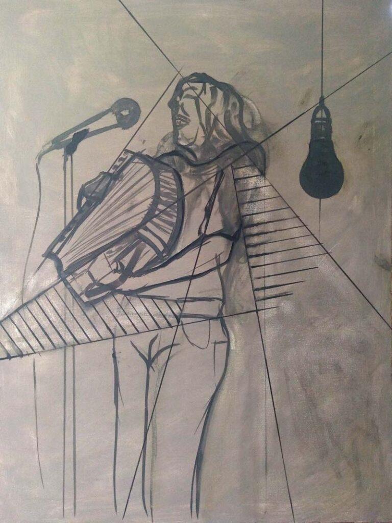 the accordionist, la acordeonista2