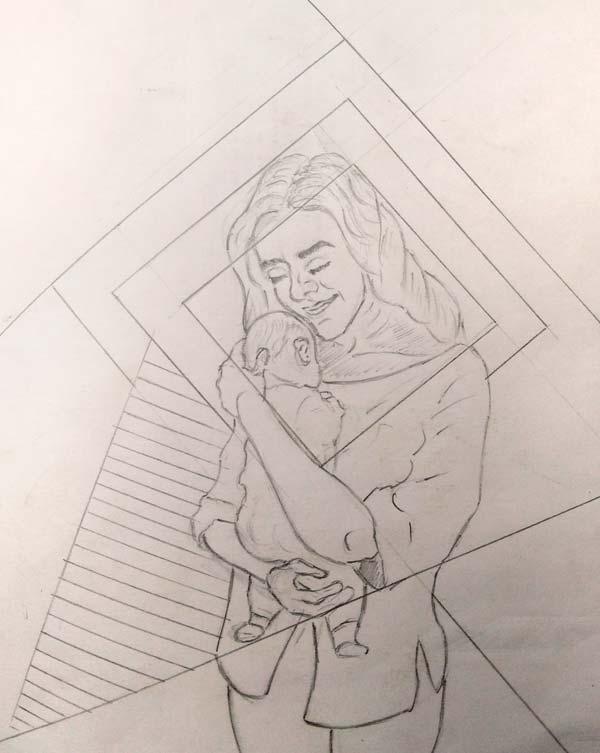 maternidad maternity artworkprocess1