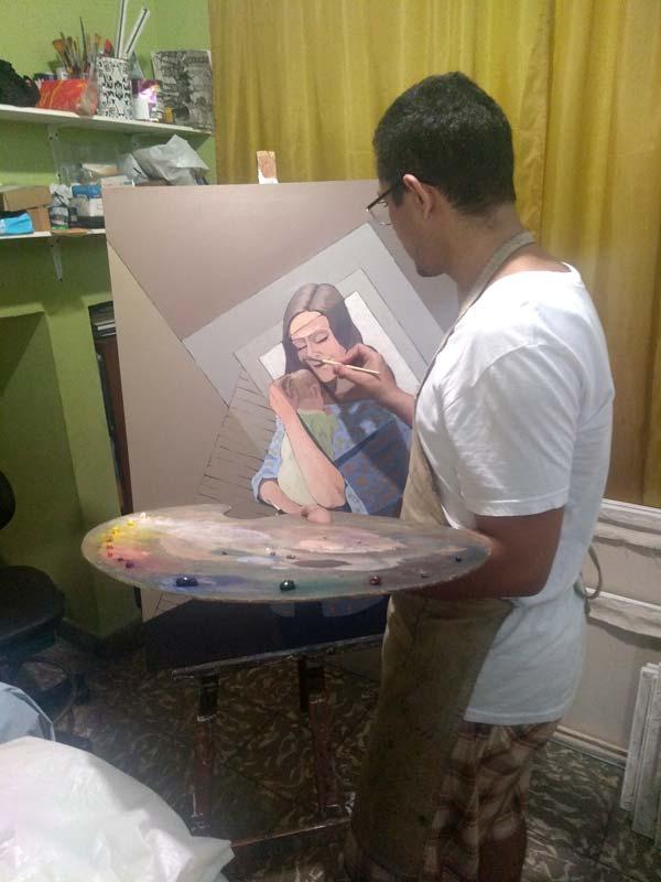 maternidad maternity artwork process12