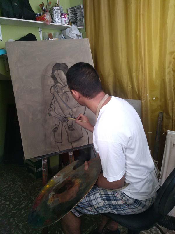 maternidad maternity artwork process4