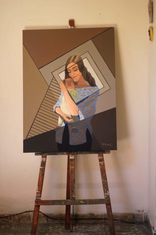 maternidad maternity in the studio